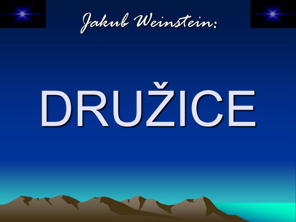 Jakub Weinstein: DRUŽICE