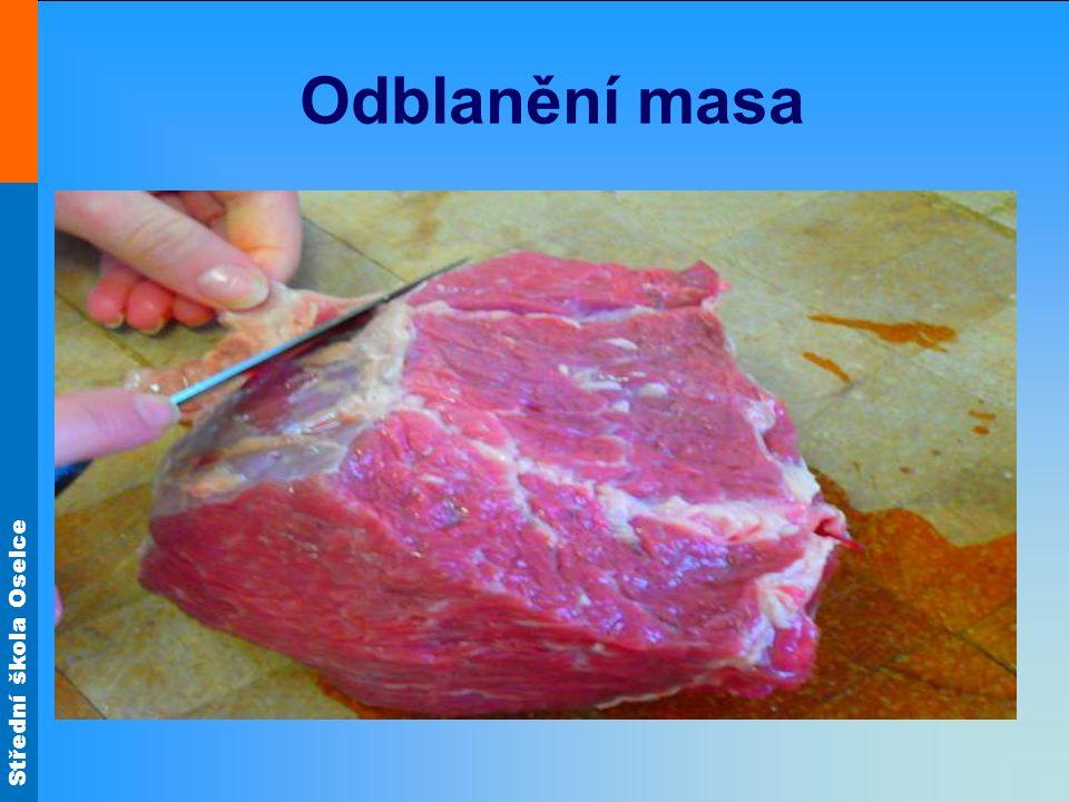 Odblanění masa