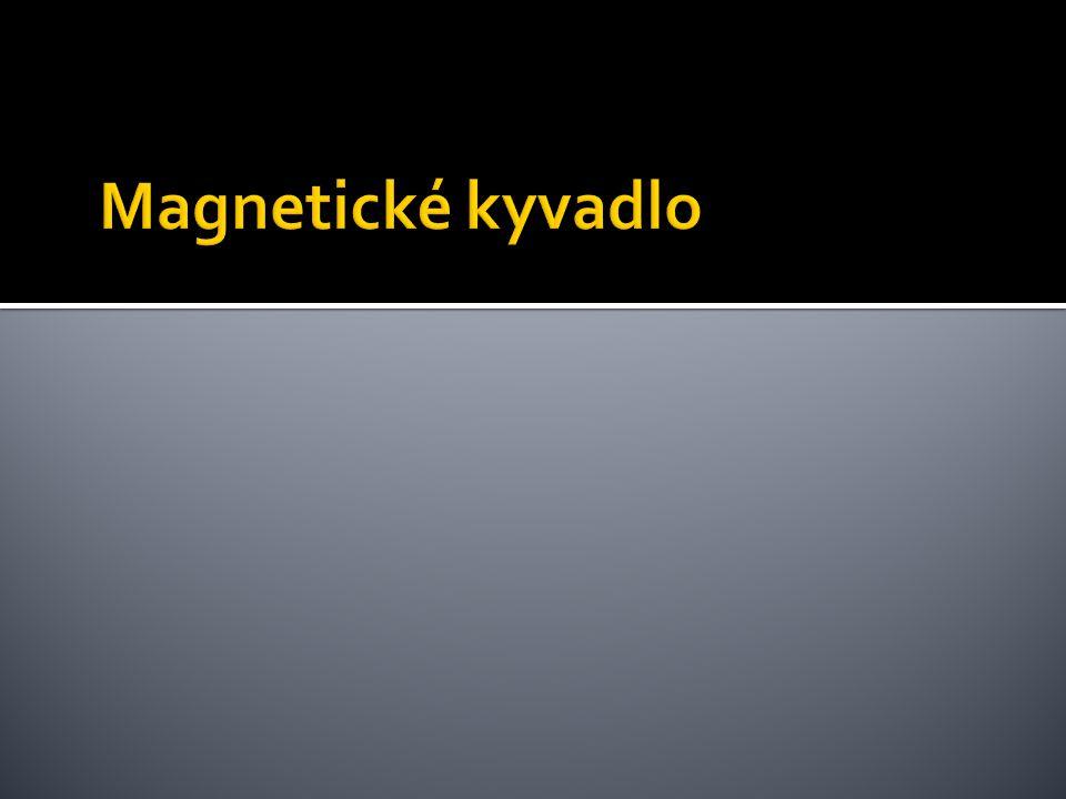 Magnetické kyvadlo