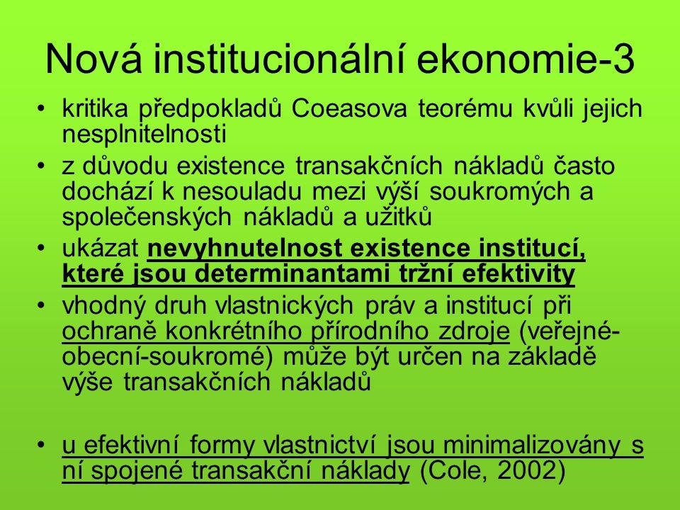 Nová institucionální ekonomie-3