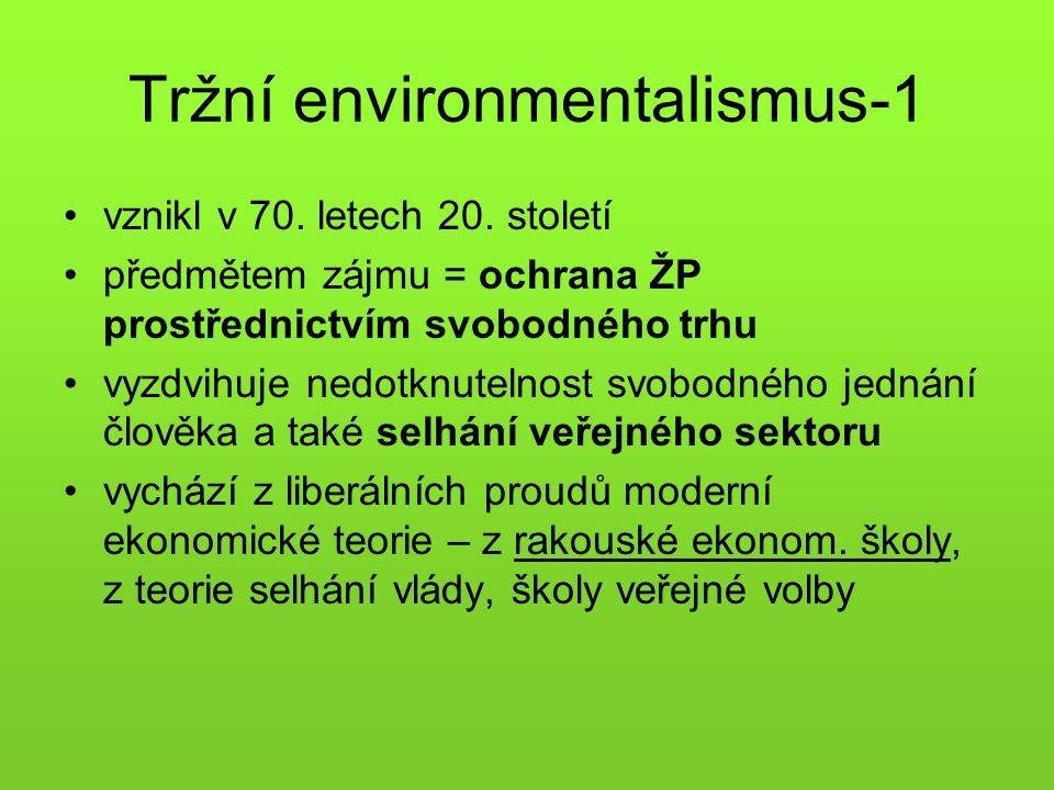 Tržní environmentalismus-1