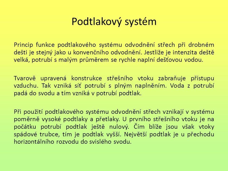 Podtlakový systém