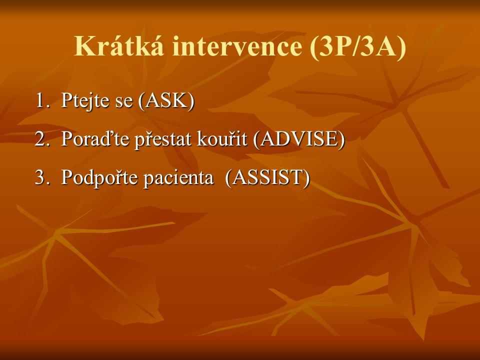 Krátká intervence (3P/3A)