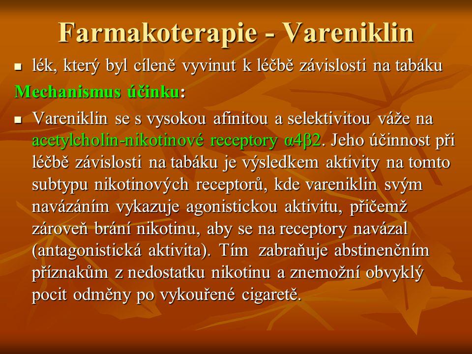 Farmakoterapie - Vareniklin