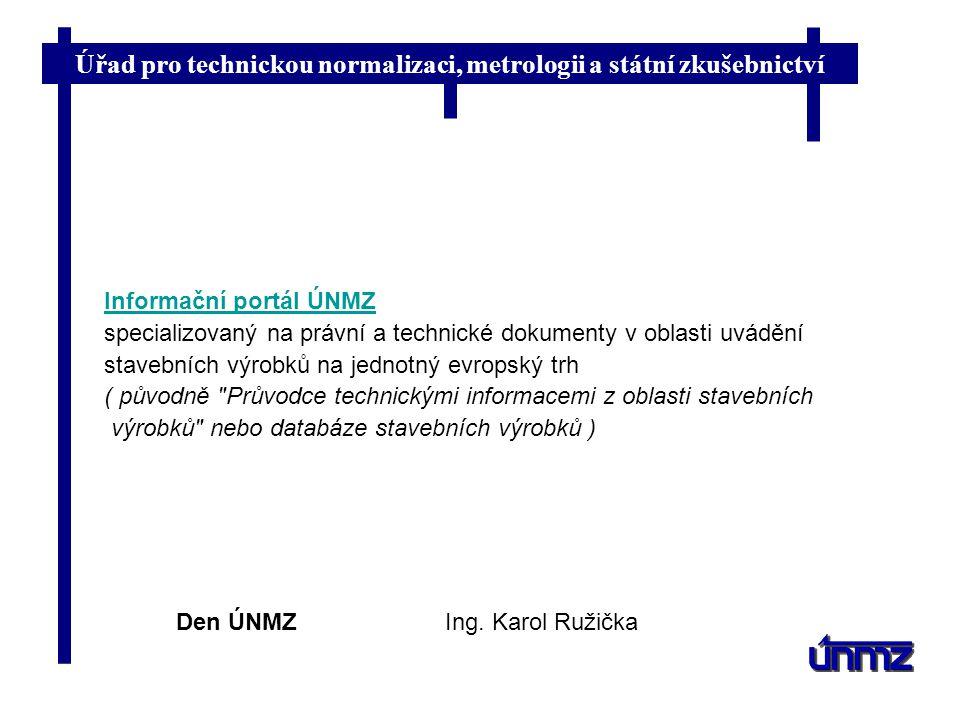 Informační portál ÚNMZ