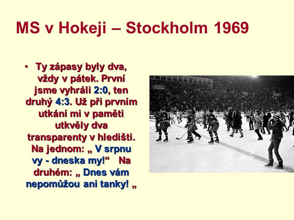 MS v Hokeji – Stockholm 1969