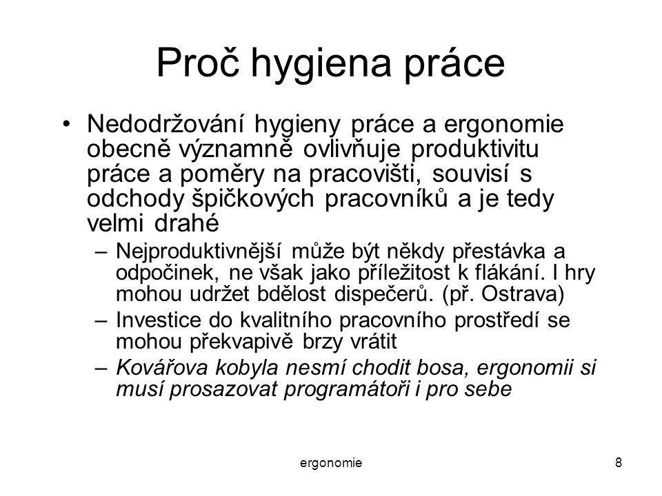 Proč hygiena práce