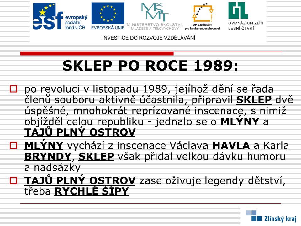 SKLEP PO ROCE 1989: