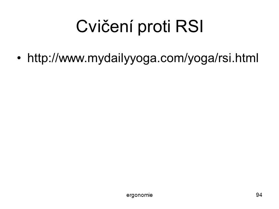 Cvičení proti RSI http://www.mydailyyoga.com/yoga/rsi.html ergonomie