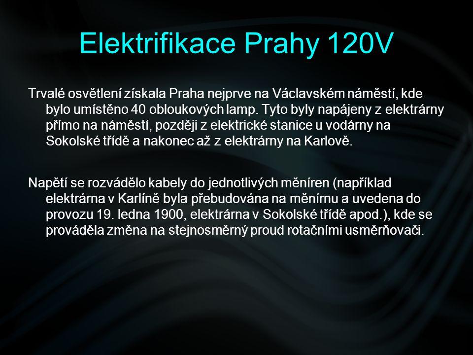 Elektrifikace Prahy 120V