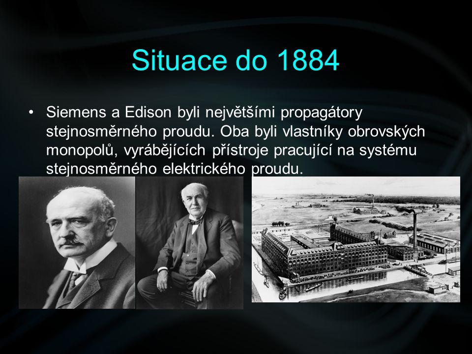 Situace do 1884
