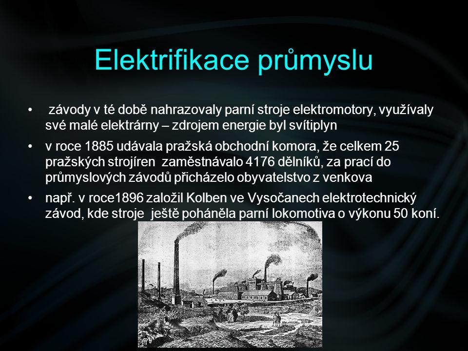 Elektrifikace průmyslu