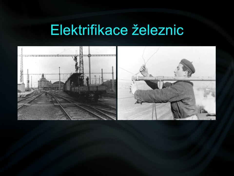 Elektrifikace železnic