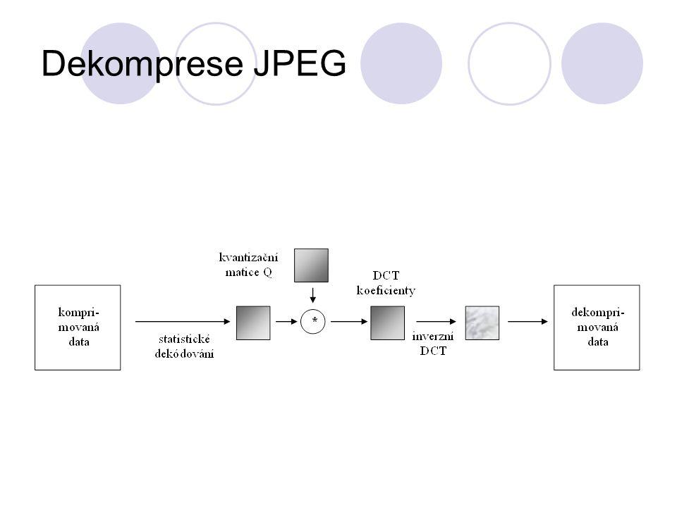 Dekomprese JPEG