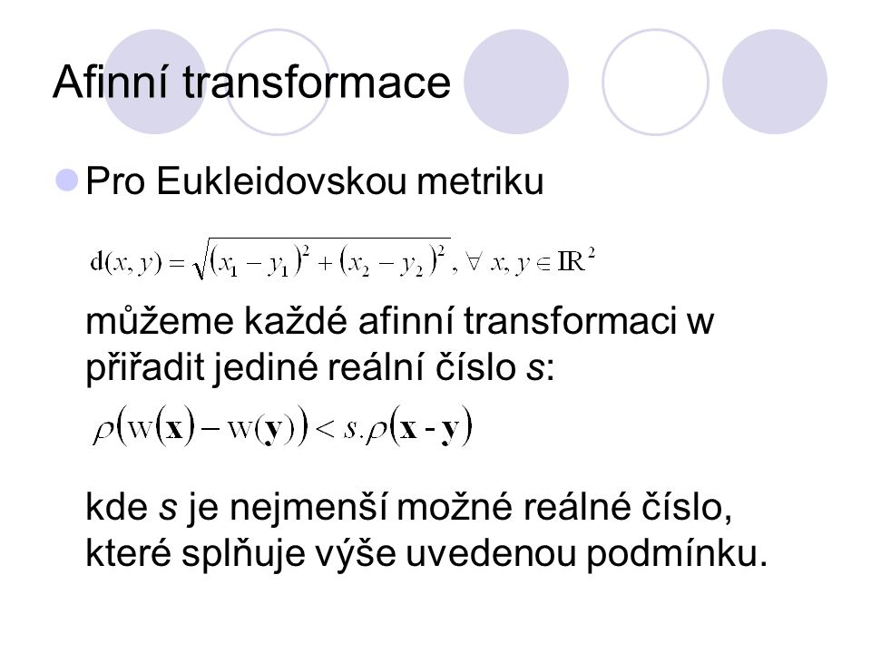 Afinní transformace