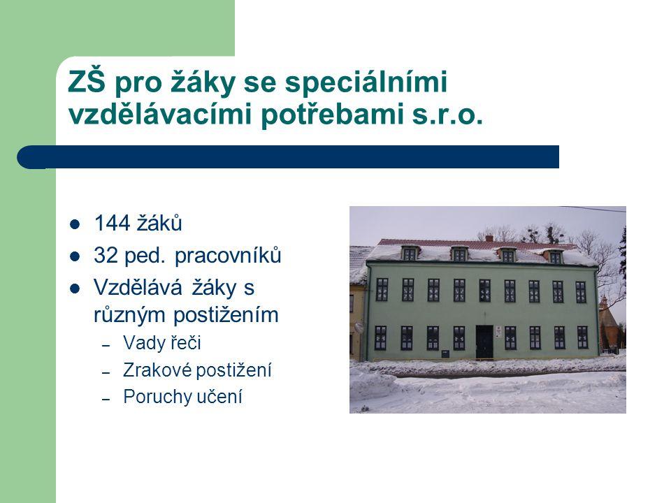 ZŠ pro žáky se speciálními vzdělávacími potřebami s.r.o.
