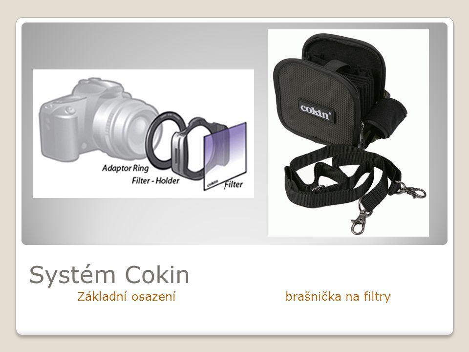 Systém Cokin Základní osazení brašnička na filtry