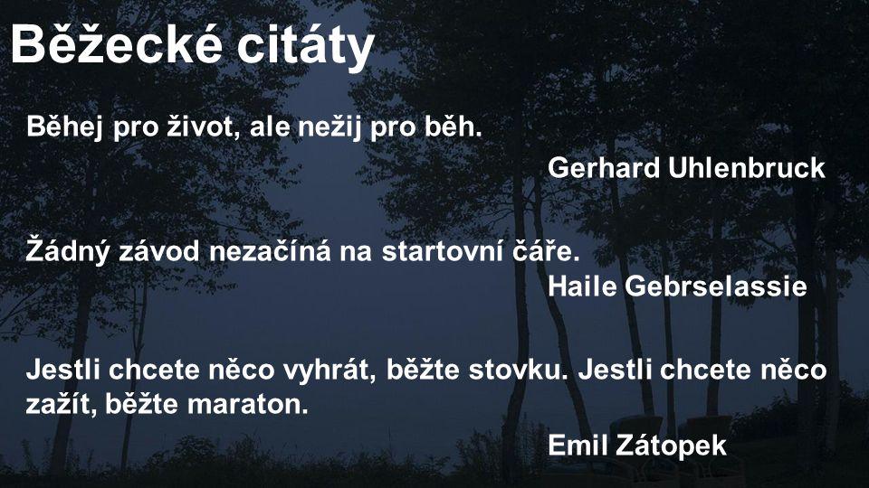 Běžecké citáty