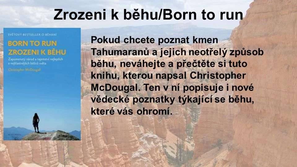 Zrozeni k běhu/Born to run