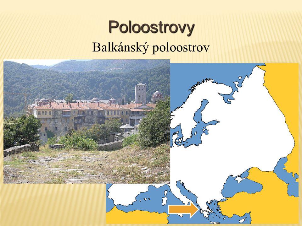 Poloostrovy Balkánský poloostrov