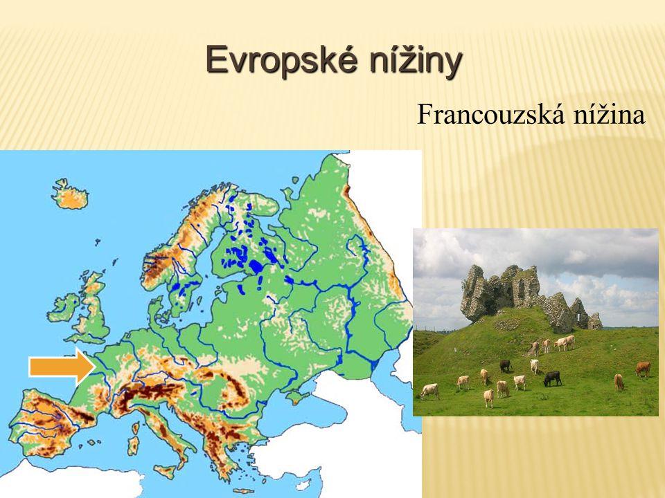 Evropské nížiny Francouzská nížina