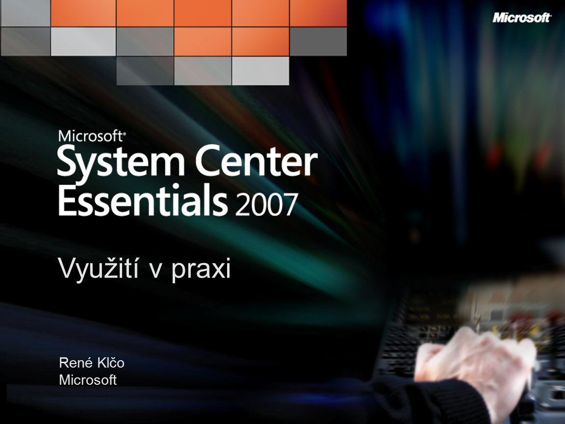 Využití v praxi René Klčo Microsoft