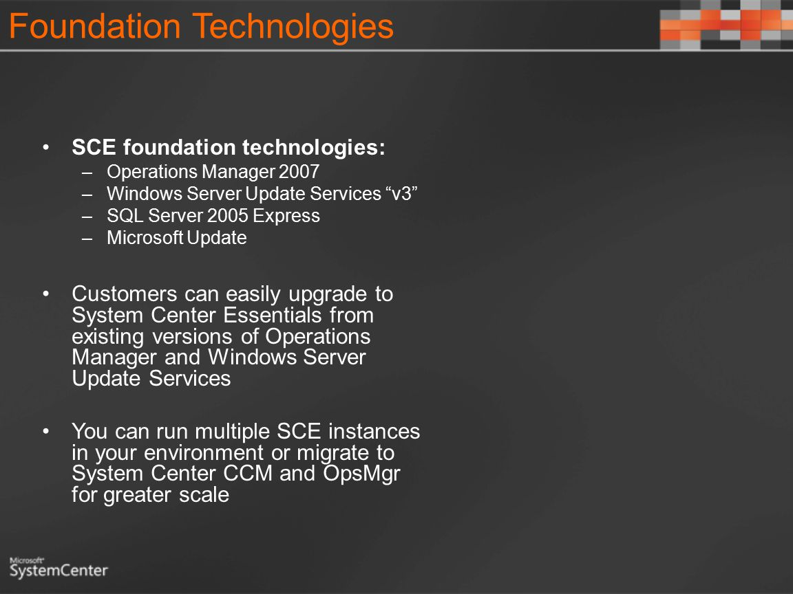 Foundation Technologies