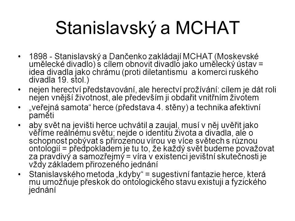 Stanislavský a MCHAT