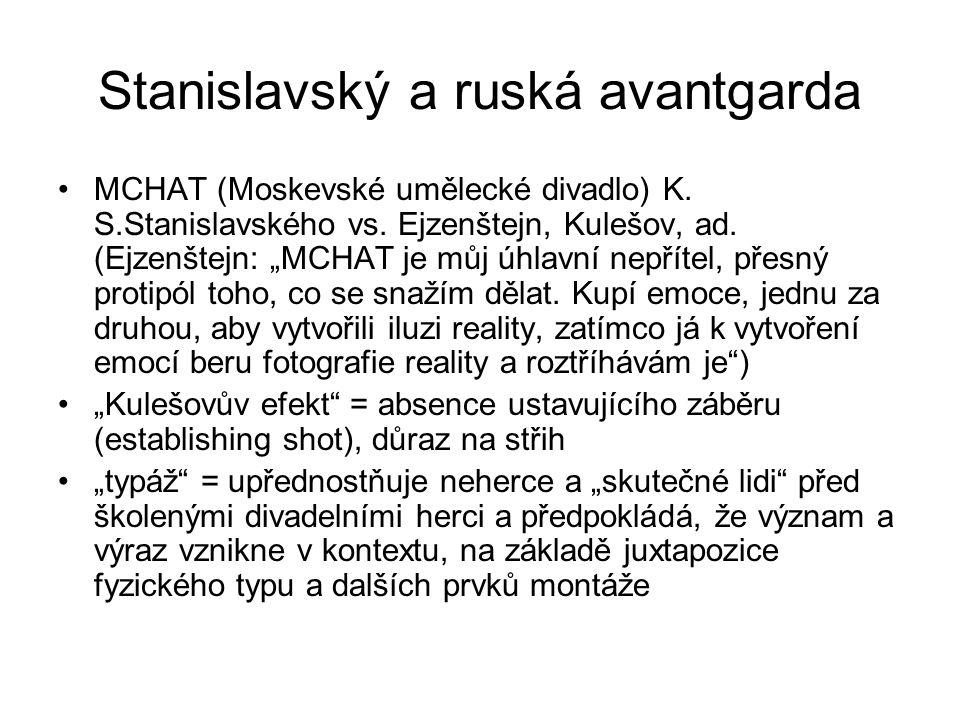 Stanislavský a ruská avantgarda