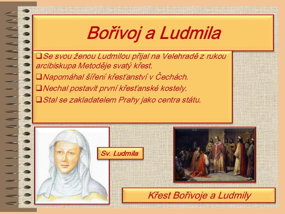 Křest Bořivoje a Ludmily
