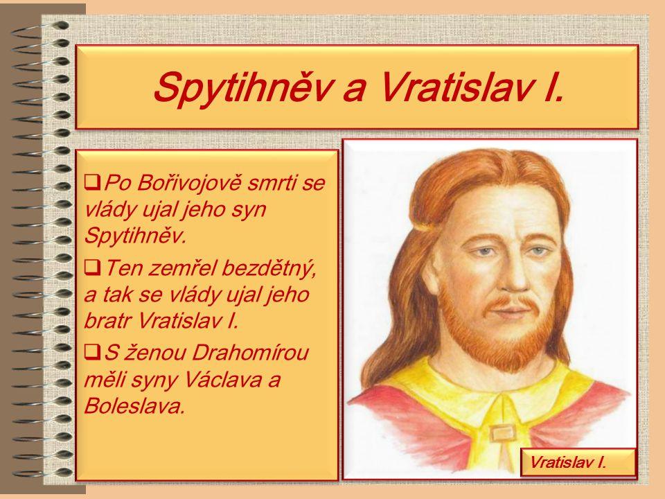 Spytihněv a Vratislav I.