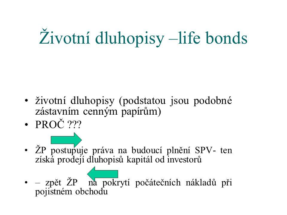 Životní dluhopisy –life bonds
