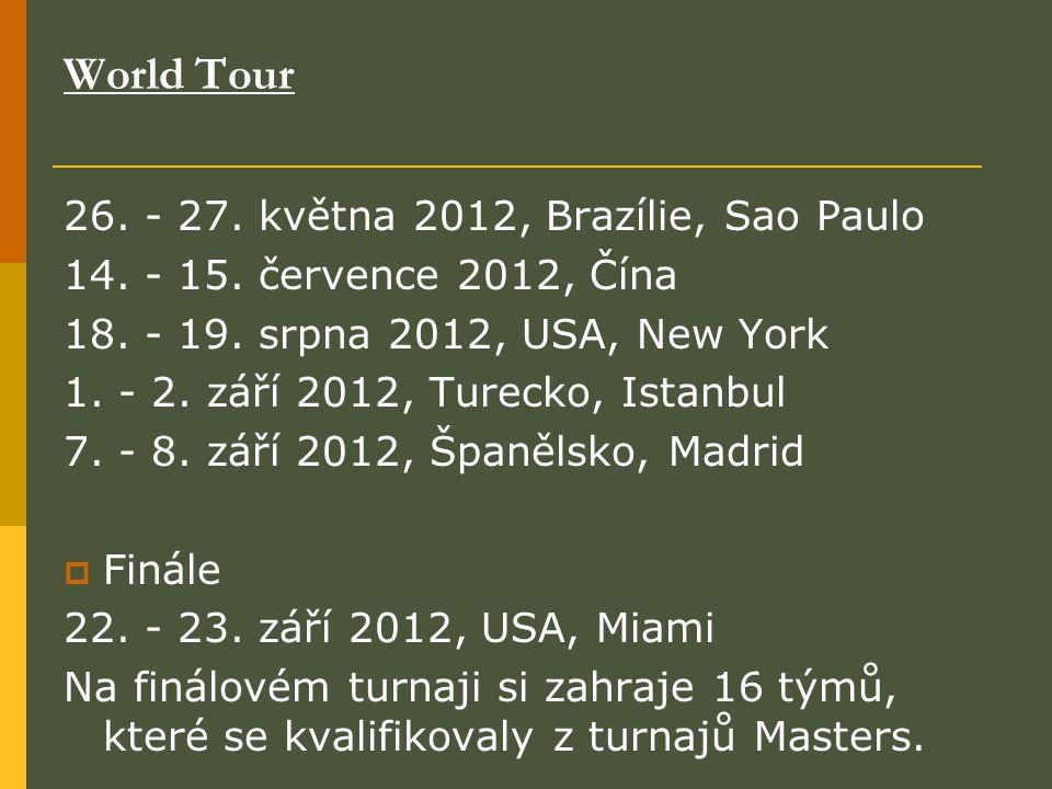 World Tour 26. - 27. května 2012, Brazílie, Sao Paulo