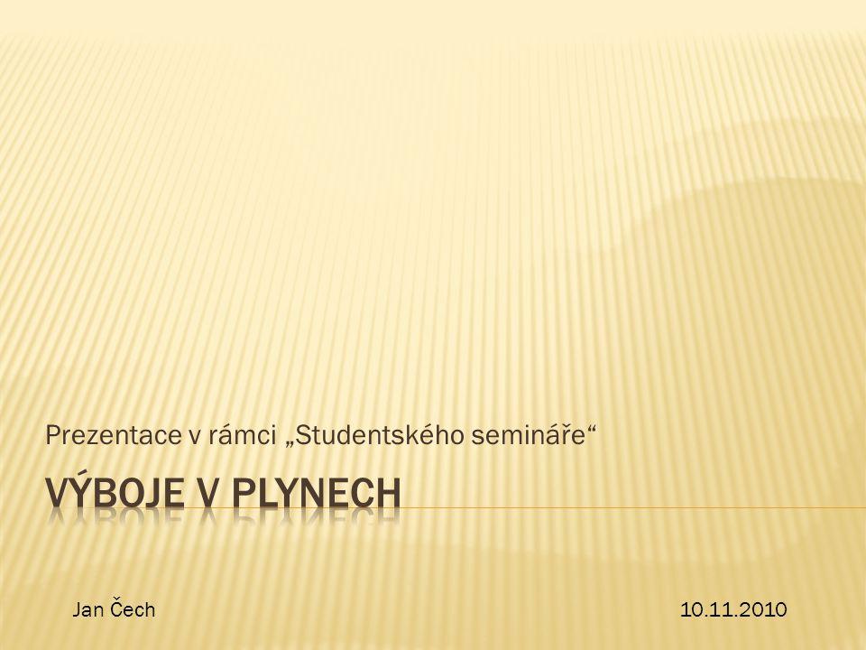 """Prezentace v rámci """"Studentského semináře"""