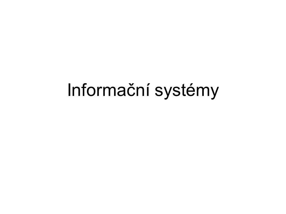 Informační systémy 1