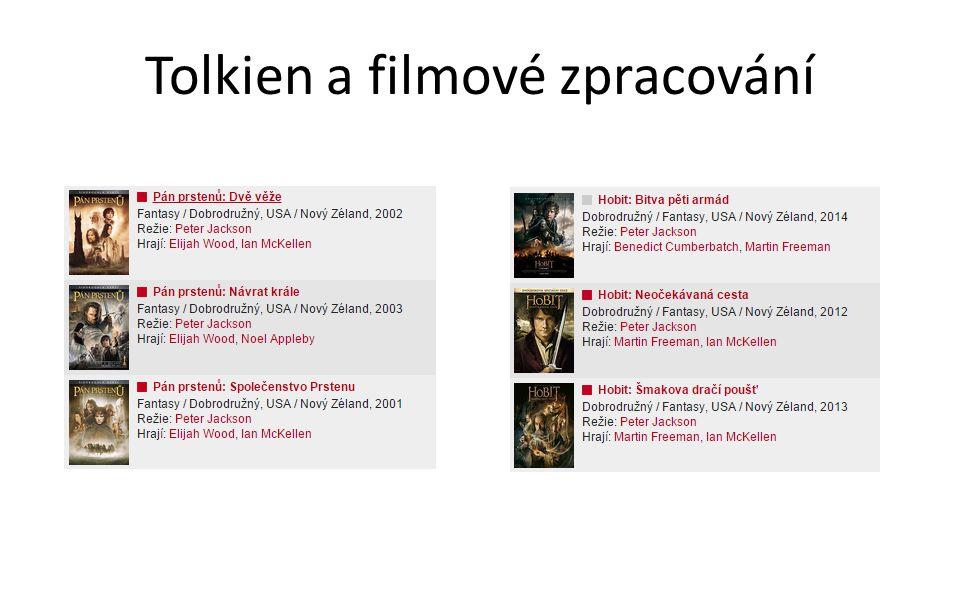 Tolkien a filmové zpracování