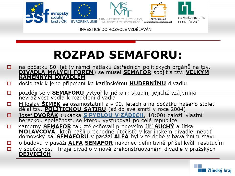 ROZPAD SEMAFORU: