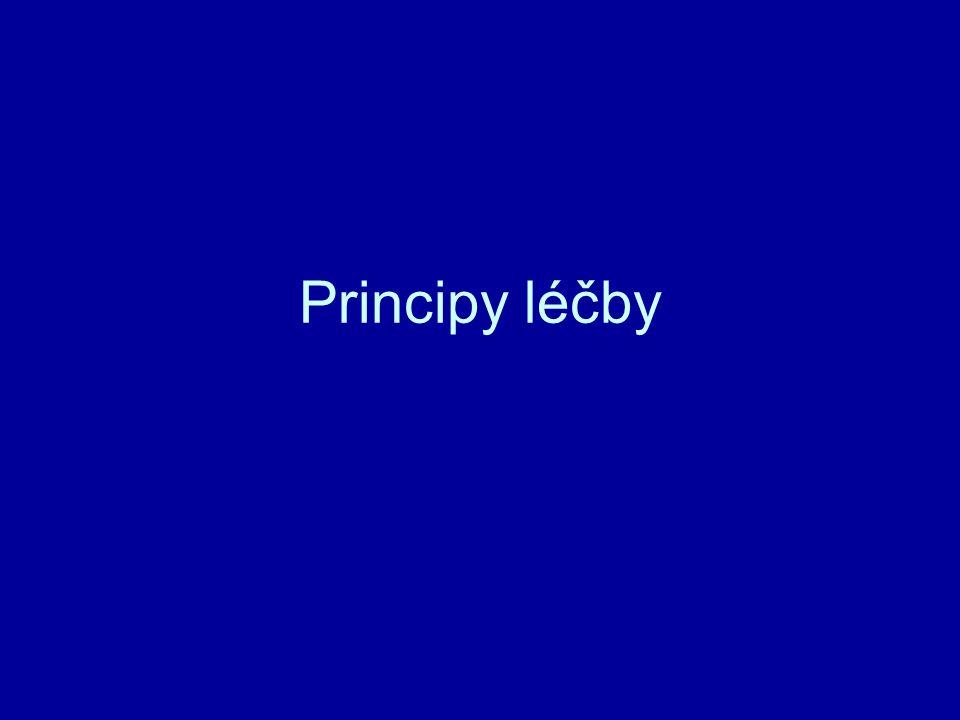 Principy léčby