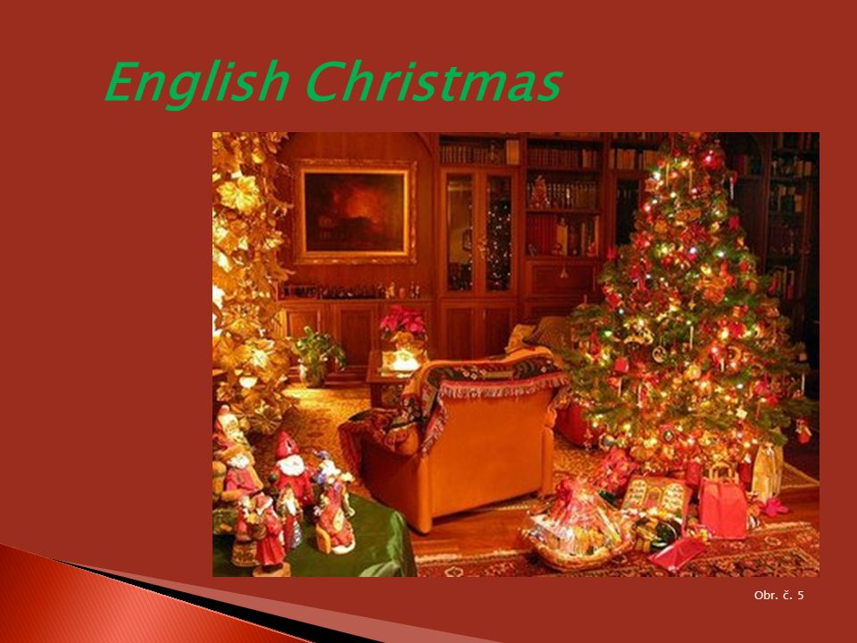 English Christmas Obr. č. 5