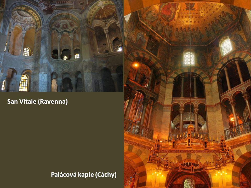 San Vitale (Ravenna) Palácová kaple (Cáchy)