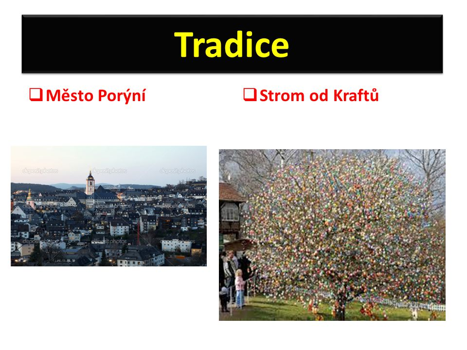 Tradice Město Porýní Strom od Kraftů