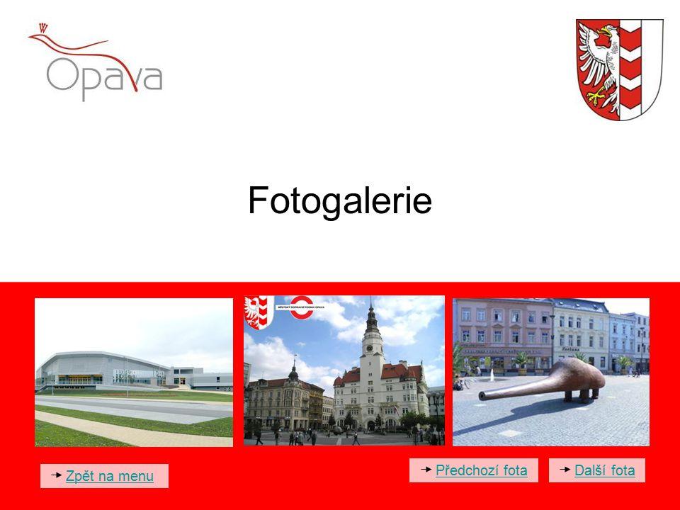 Fotogalerie Předchozí fota Další fota Zpět na menu