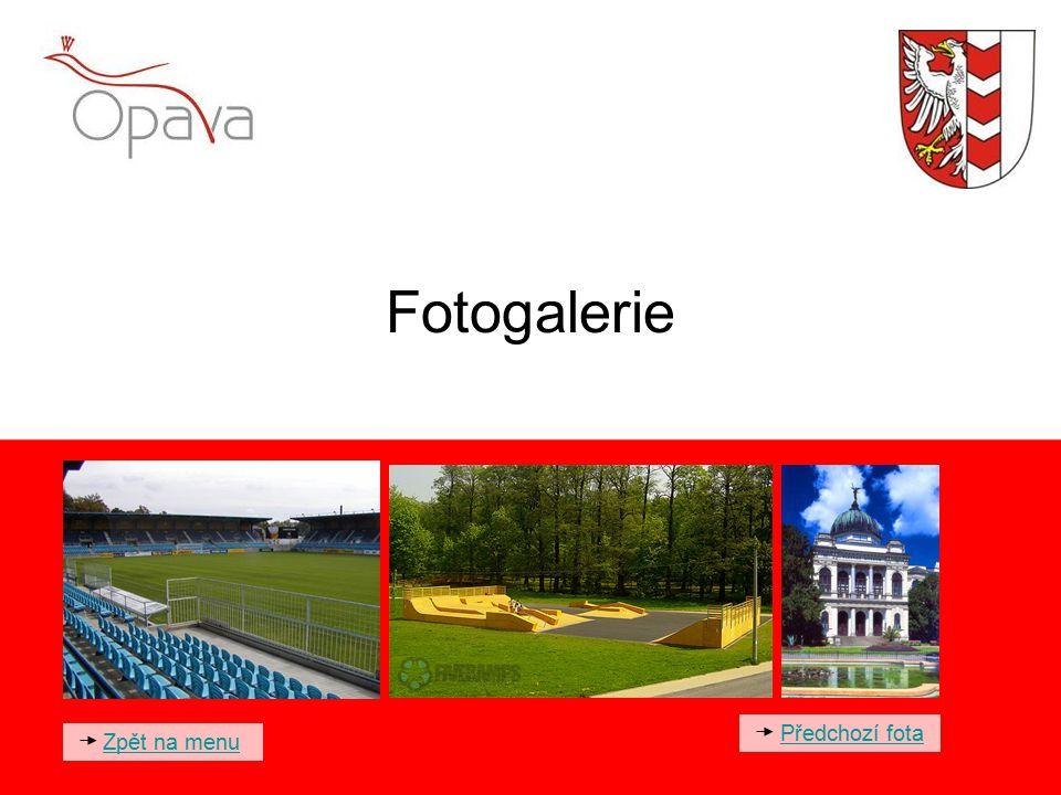 Fotogalerie Předchozí fota Zpět na menu