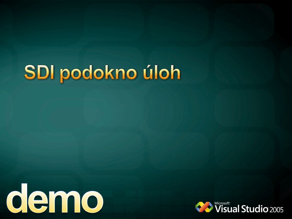 demo SDI podokno úloh 4/12/2017 6:11 PM New Excel 2007 Add-in
