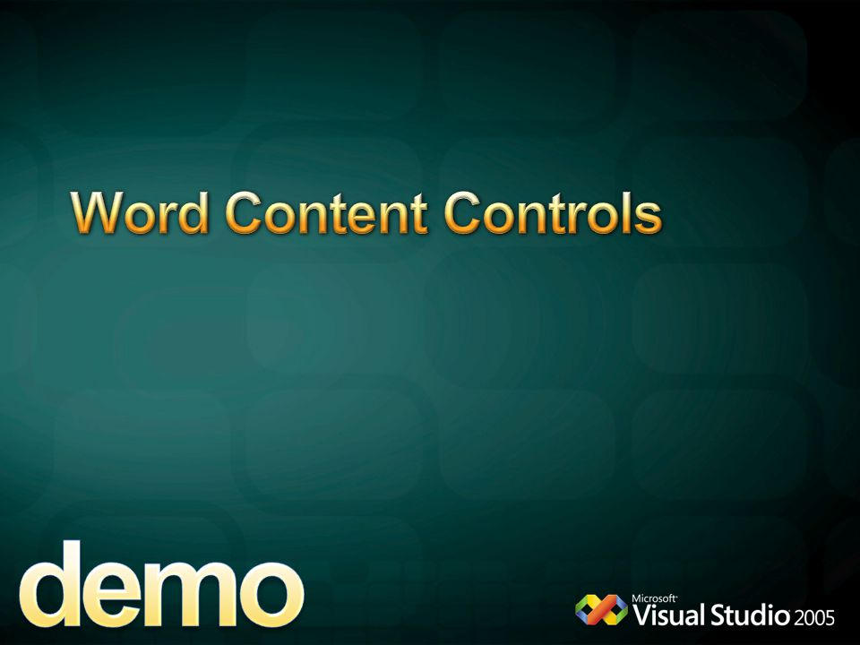 demo Word Content Controls 4/12/2017 6:11 PM