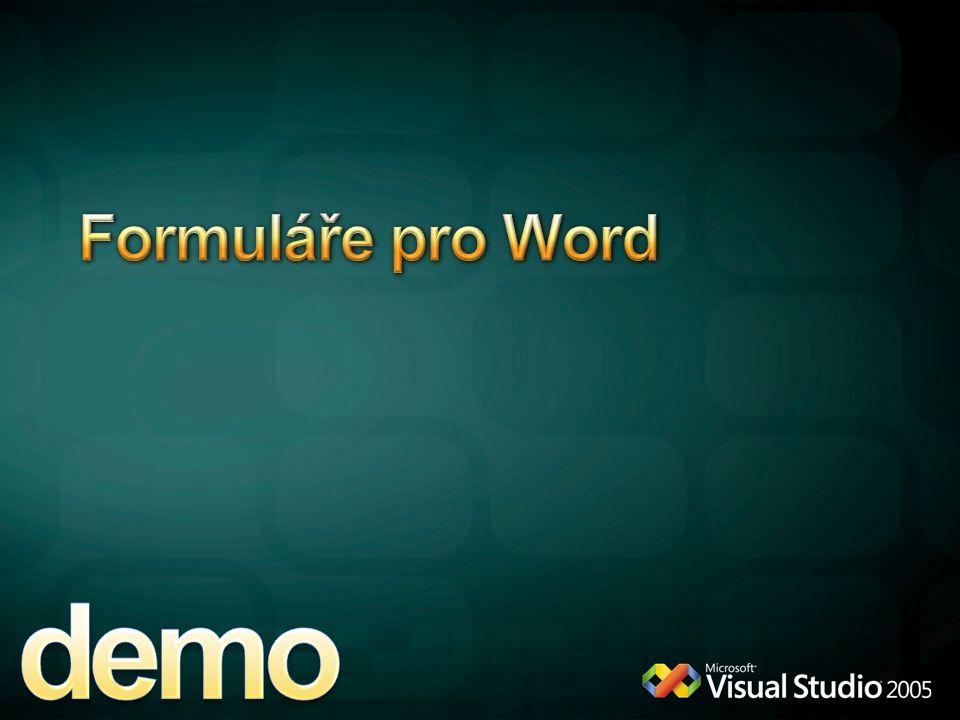demo Formuláře pro Word 4/12/2017 6:11 PM WordFormular solution