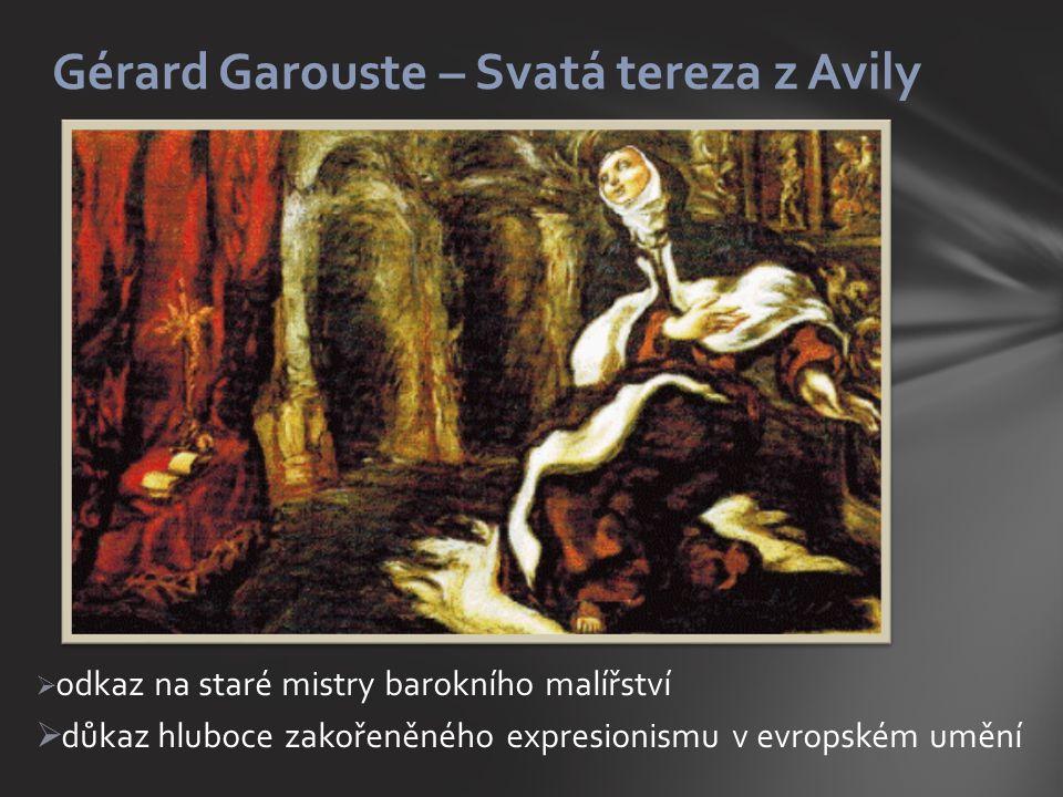 Gérard Garouste – Svatá tereza z Avily