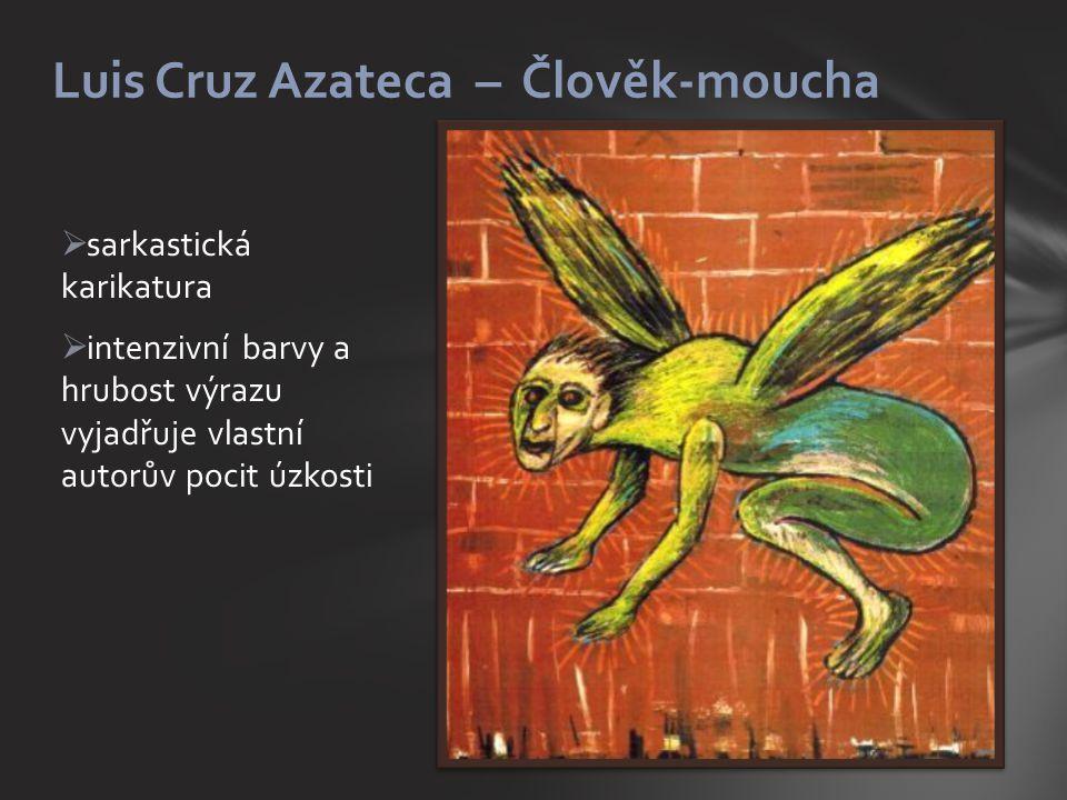 Luis Cruz Azateca – Člověk-moucha