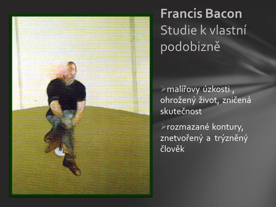 Francis Bacon Studie k vlastní podobizně