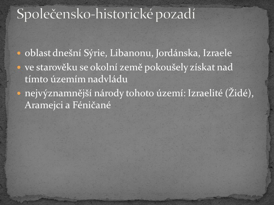 Společensko-historické pozadí